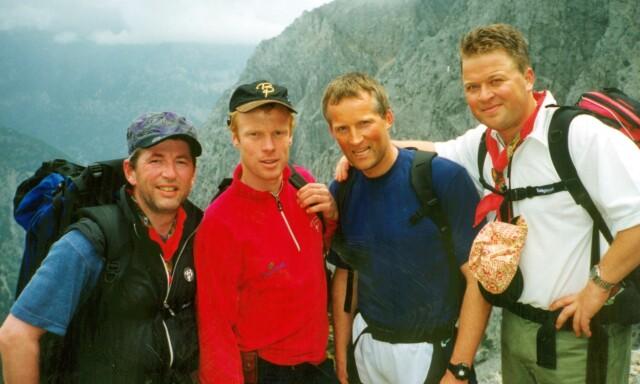 affb750c TILBAKE: Arne Brimi, Bjørn Dæhlie, Vegard Ulvang og Arne Hjeltnes i «Gutta