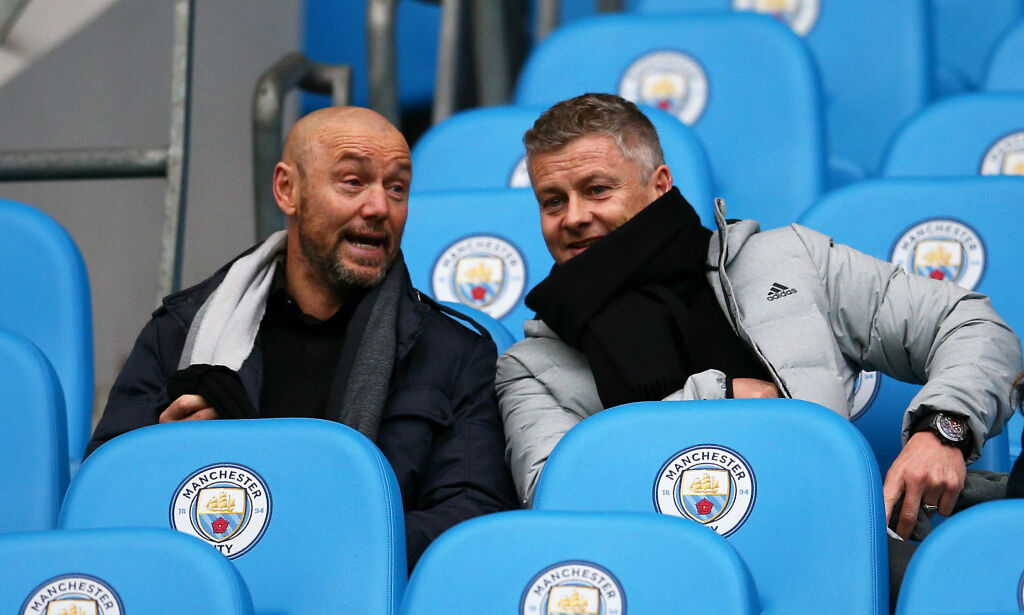 The city humiliated Burnley with Solskjayer as a spectator