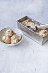 HJEMMELAGET IS: Isen smaker også fantastisk mellom to cookies eller i en vaffel. FOTO: Winnie Mathmann
